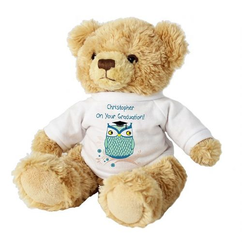 Personalised Mr Owl Teacher Teddy Bear Thank You Gift for teachers